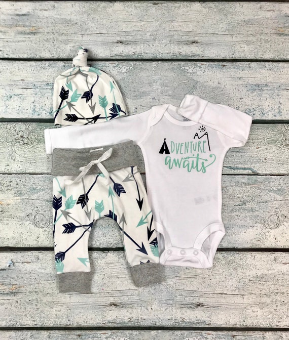 1513321c8697 baby boy coming home outfit adventure awaits outfit baby boy