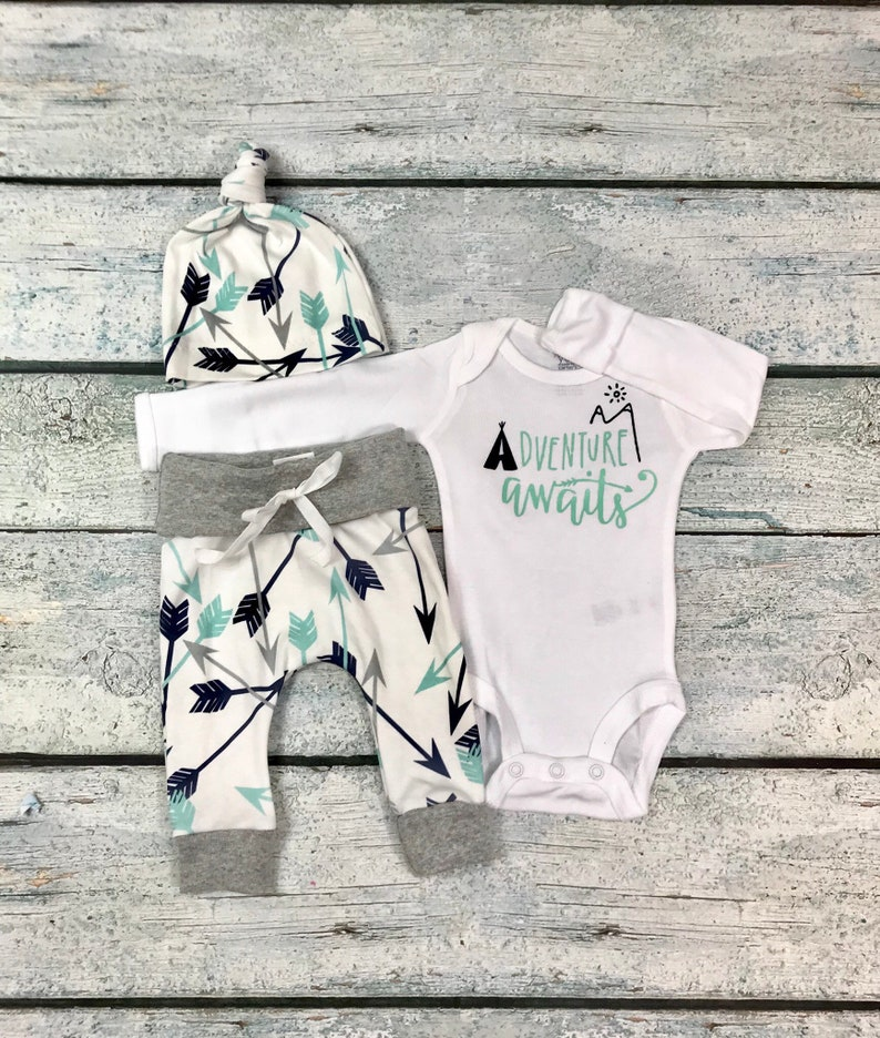 bb4a972dad05 Baby boy coming home outfit adventure awaits outfit baby boy