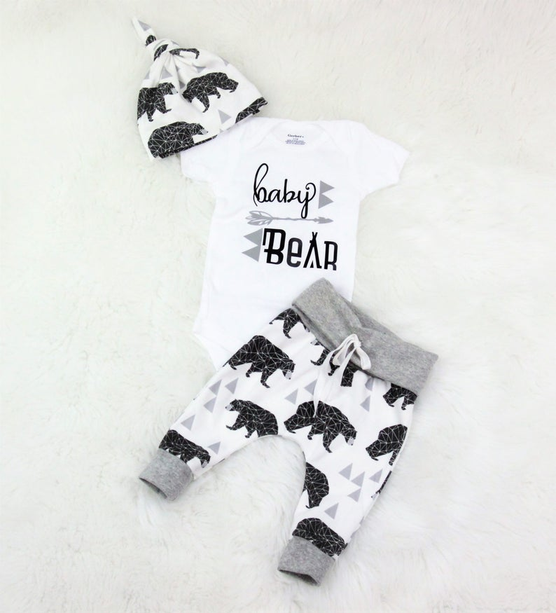 5283ceed0128 Baby boy coming home outfit baby bear  take home outfit