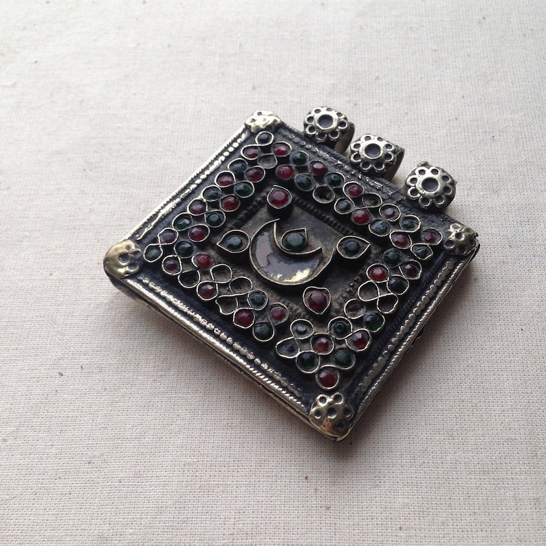 Zahra Antique Tribal Locket *MOTM Saharan Beauty Collection*