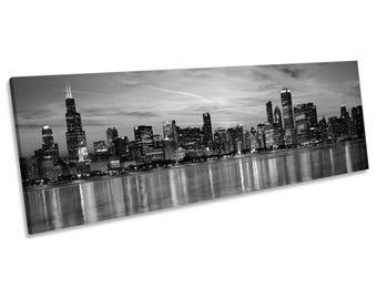 Chicago Canvas Print Etsy