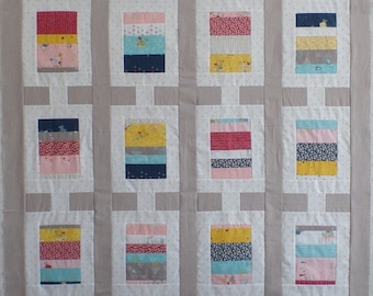 Flip A Coin Quilt Kit- In 2 color ways - You Choose!