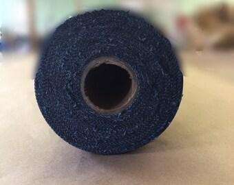 """Blue Denim Roll, 20 Yards x 61"""" Wide, 10.5 oz Woven Durable Denim"""