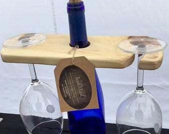 Reclaimed Wood Wine Butler