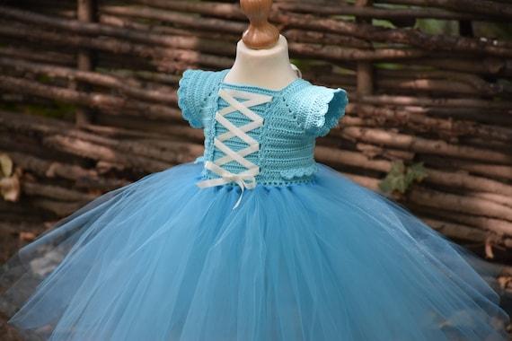 Crochet Tutu Dress Pattern Elsa Tutu Dress Pattern Crochet Etsy