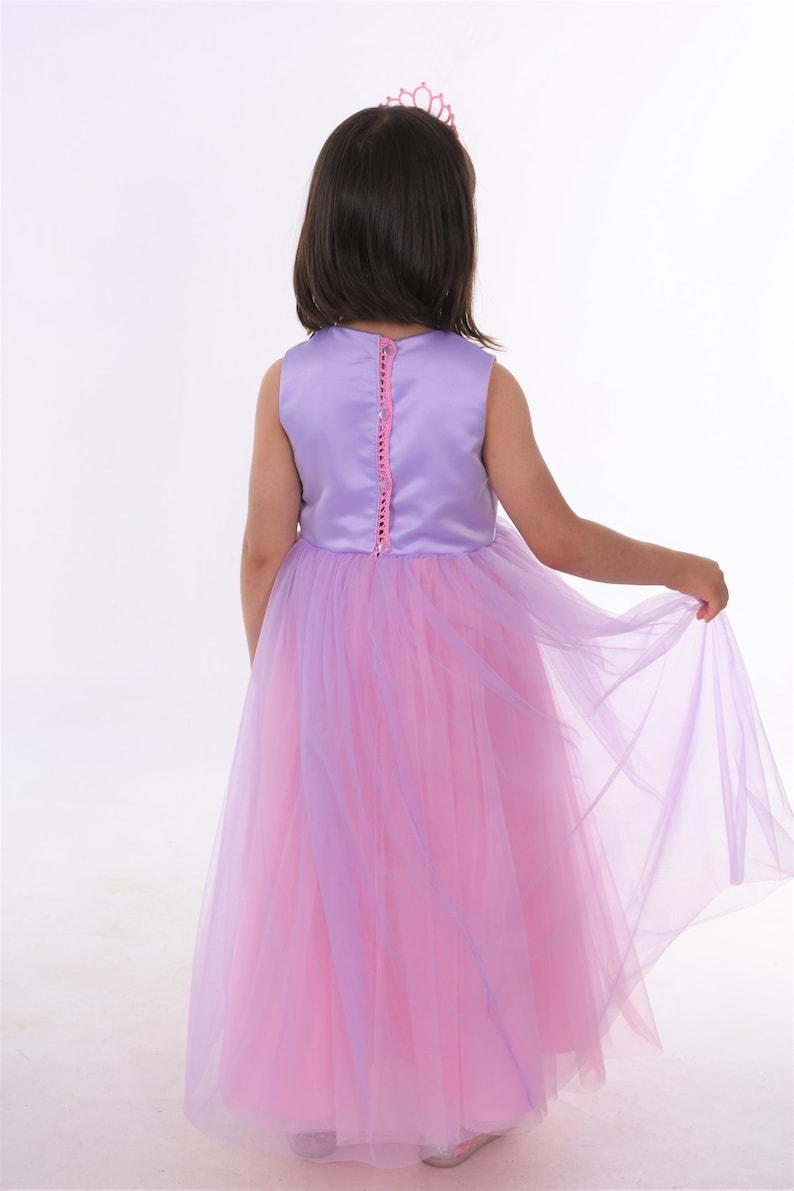 princess dress Rapunzel flower girl dress