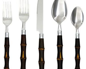 Best Bamboo flatware | Etsy GZ33