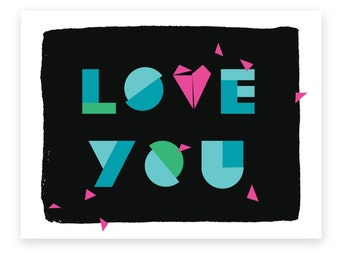 Love You • Single card
