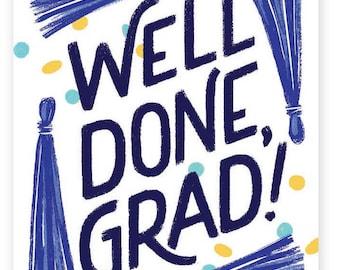 Well Done, Grad! • single card