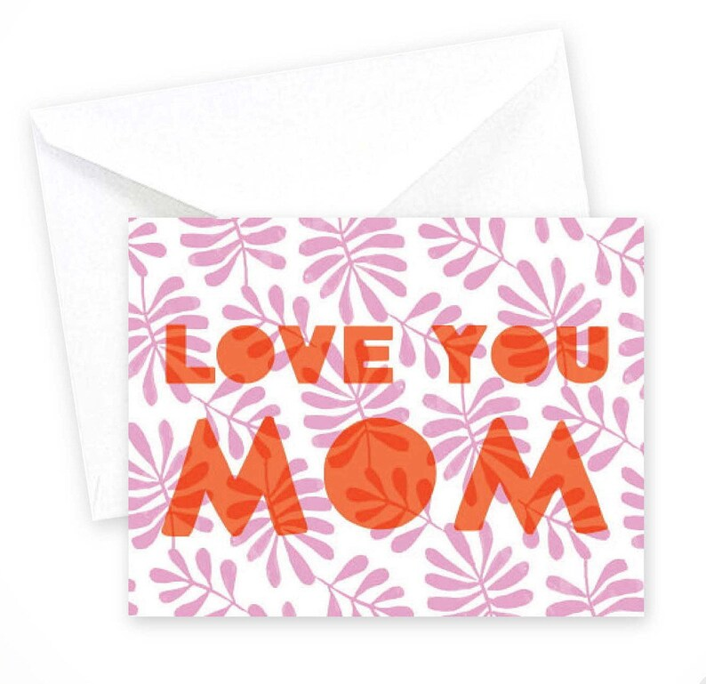 Love You Mom  \u2022 single card