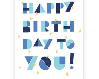 Happy Birthday to You • Single Card