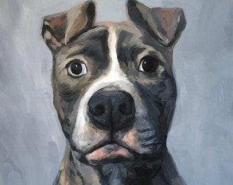 Custom Pet Portrait | Original Oil Painting of Your Pet
