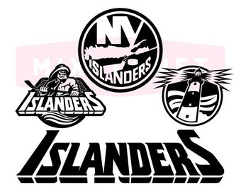 New York Islanders SVG Cut Files DXF Cutting Svg Classic Dxf Png Cuttable File Instant Download