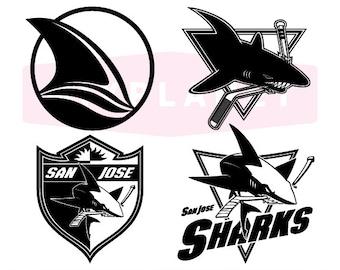 San Jose Sharks SVG Cut Files 98dc14143