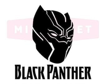 Black Panther SVG Cut Files, Black Panther DXF Cutting Files, Black Panther Svg Dxf Png Cuttable Files, Black Panther SVG, Instant Download