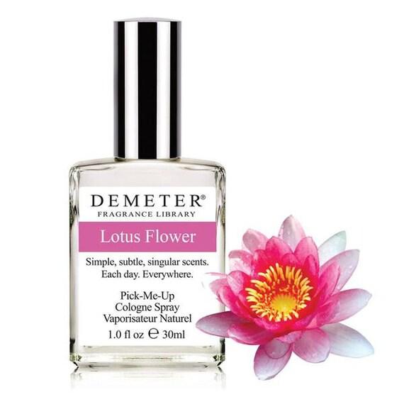 Demeter 1oz Cologne Spray Lotus Flower Etsy
