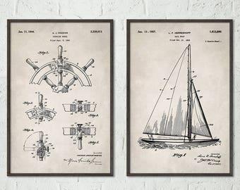 3b71720d Nautical Decor, Nautical Art Print, Beach House Decor, Beach House Sign  Nautical Wall Art, Nautical Bathroom Wall Decor Sailing Prints S016
