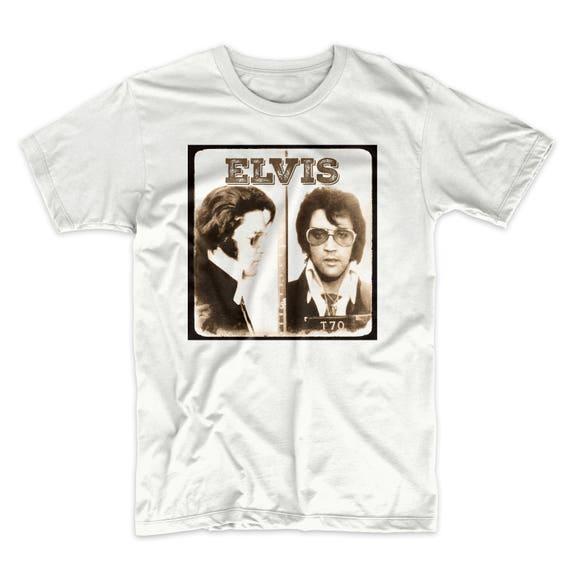 David Bowie Mug Shot Tee Shirt Music Legend T-Shirt Soft Cotton Premium Tee