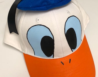 Donald duck hat  db35730cd4a5