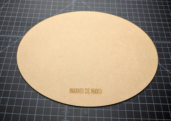 3mm MDF Flower#4 with base