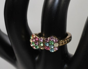 Multi Color Ribbon Ring (5 1/2)