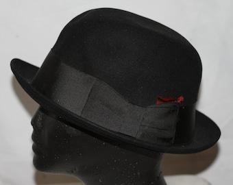6660222de Black dobbs hat | Etsy