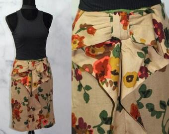 fb9e68f795 90's Anthropologie Eva Franco Floral Skirt (0)