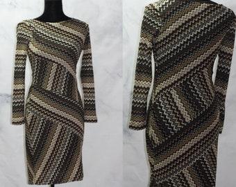 c2ae91f94c6 Evan Picon Multi Stripe Asymmetric Dress (4)