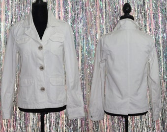 83058e0e620 Old Navy Classic Light Brown Jacket with Floral Lining (M)