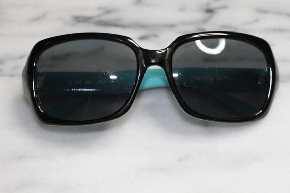 90's Sydney Love Sunglasses with Blue Back *Excellent Condition