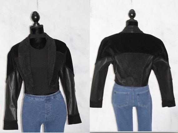 Cuir Classique Black Fringe Western Leather Suede