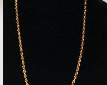Moet Gold Link Necklace