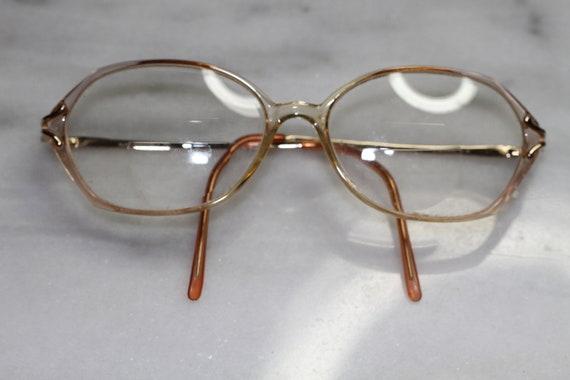 Bobbi Brooks Gold & Brown Rx Frames