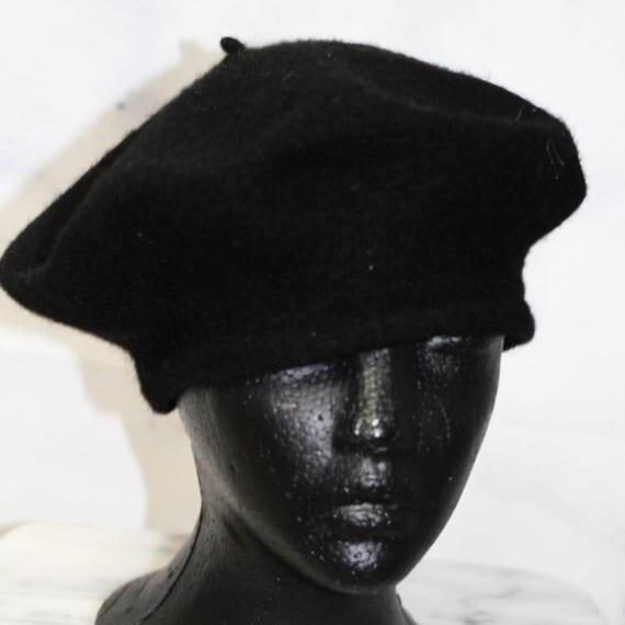 Black Beret Hat - image 2