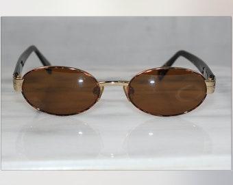 Sergio Tacchini Brown & Gold Sunglasses