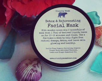 Mermaid Mask-Detoxifying and Rejuvenating