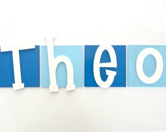 Wooden letters, Kids name sign, Nursery Decor, Kids room sign, Wooden wall letters, Wooden name - Large