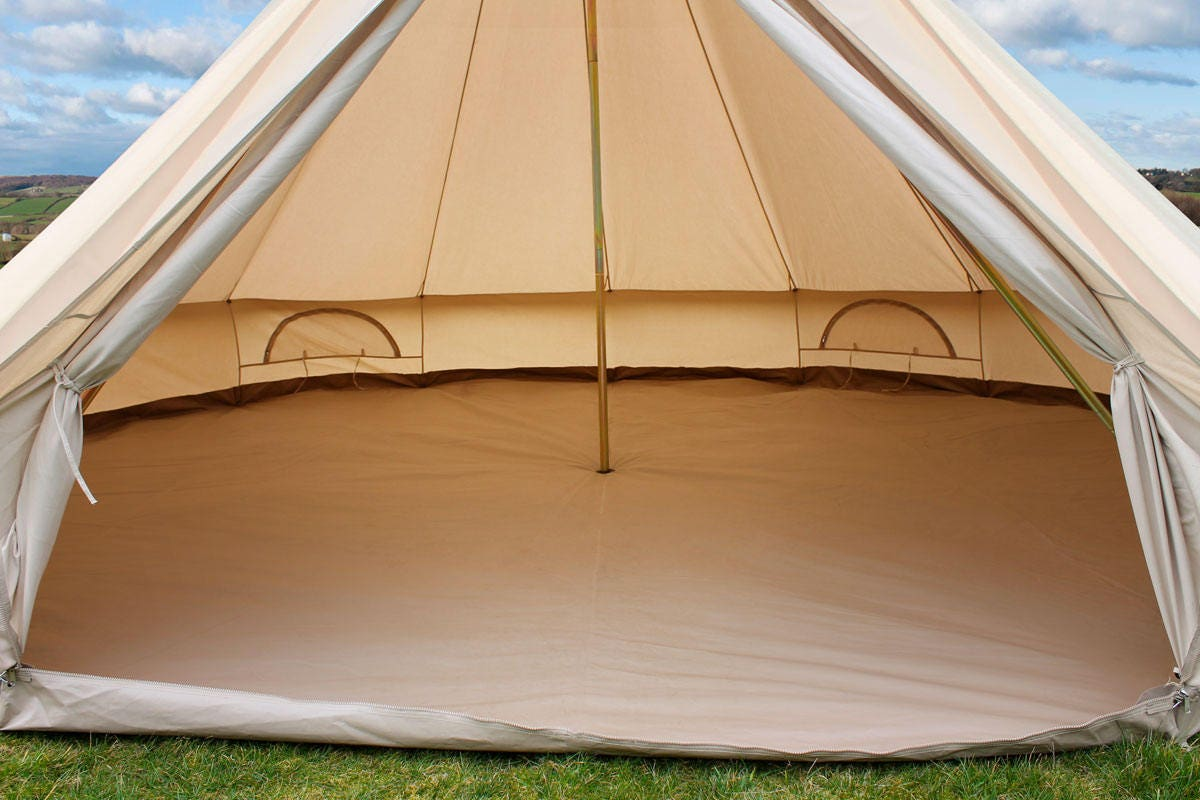 gallery photo ... & SOLD OUT ! Bell tent luxury in XXL!!! The mansion of Bell Tents 6 ...