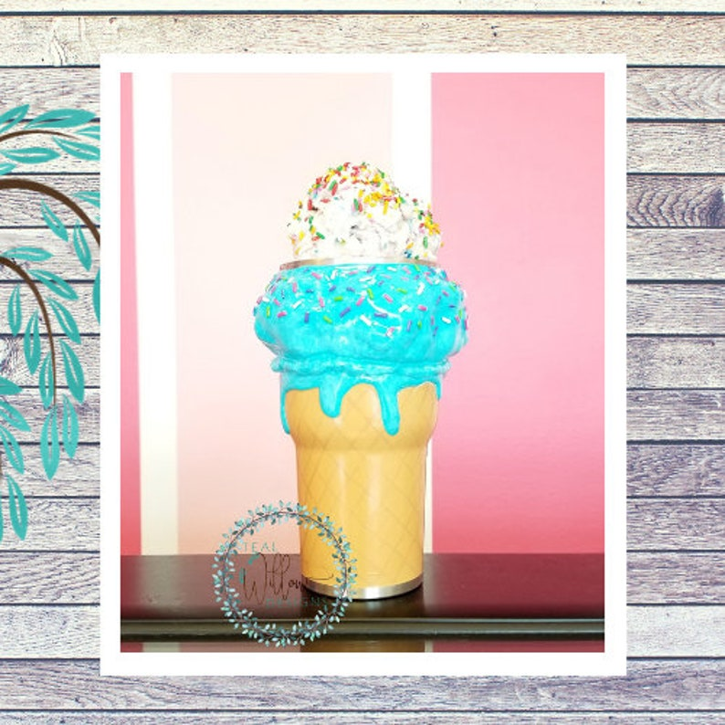 Ice Cream With Sprinkles Coffee Tumbler image 0