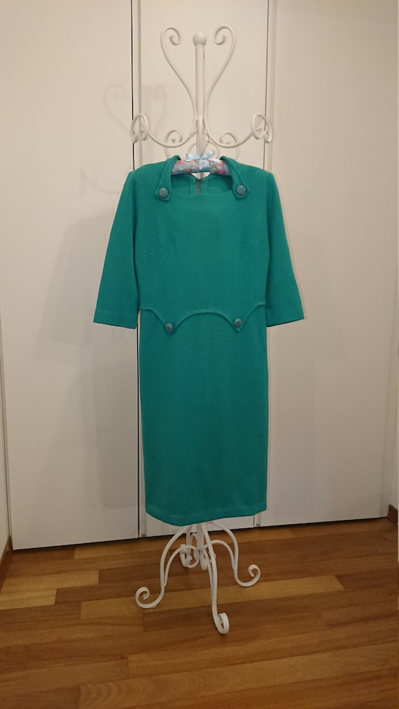 1960s French Fashion 's Handmade dress