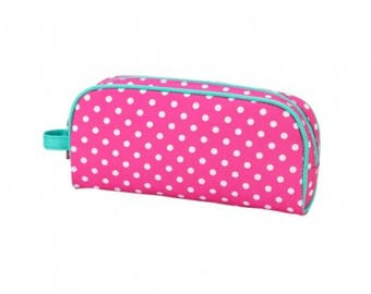 Monogrammed Pencil Pouches, Back to School, School Supplies, Pencil Bags, Personalized Pencil Pouch, School Supply bags