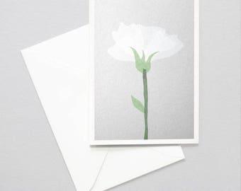 Greeting card - flower