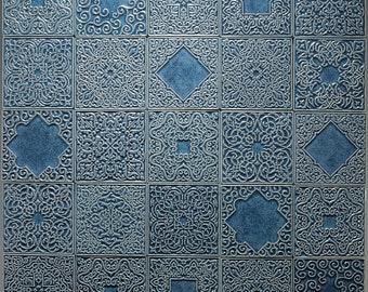 Piastrelle marocchine blu etsy