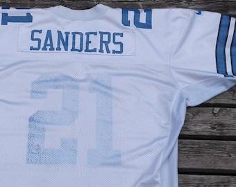 f20569ce965c8 Vintage Nike Pro Line Deion Sanders Dallas Cowboys #21 Football Jersey Size  52