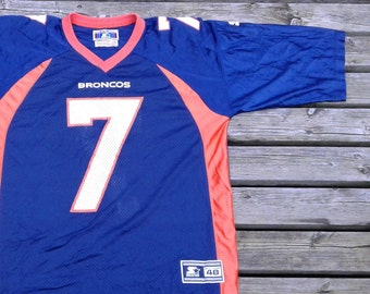Vintage John Elway   Denver Broncos   Starter Football Jersey Mesh    Classic Team Collection   Made in Canada   large 0225a54ca