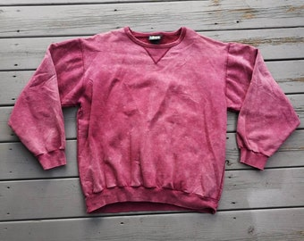 ae096d07576b Killer Faded to Perfection Vintage 80 s   90 s oversized grunge crewneck  sweatshirt purple red pink Made in Canada XL