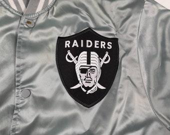 5c0f87c3 Oakland raiders jacket   Etsy
