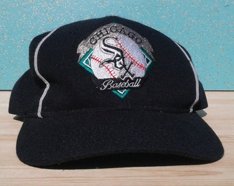 1bea2700e1a Vintage 90 s Chicago White Sox The Game Strapback Wool Baseball Cap