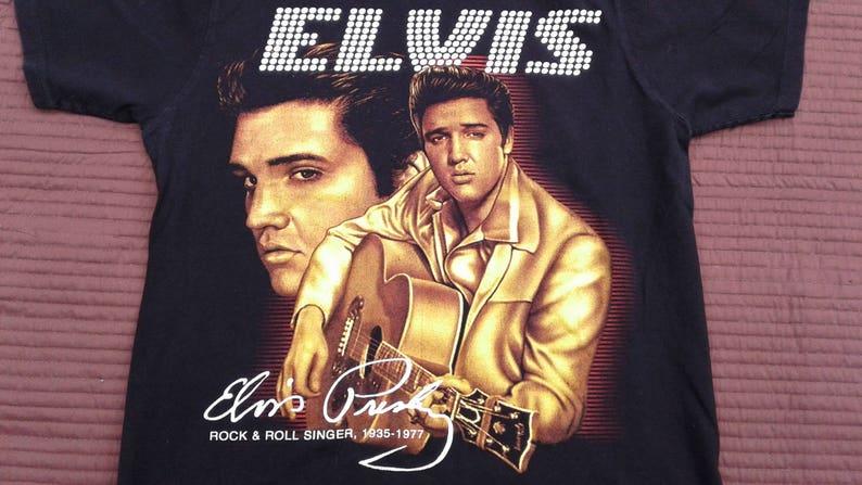 Elvis Presley The King 1960s Retro Unisex T Shirt