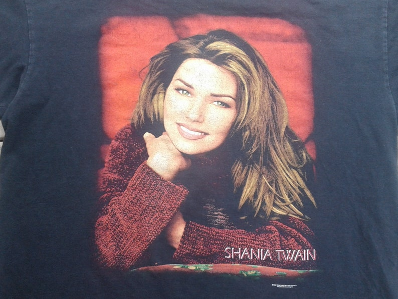 58864a2a0 Vintage 90's 1998 Shania Twain Canadian Country Music | Etsy